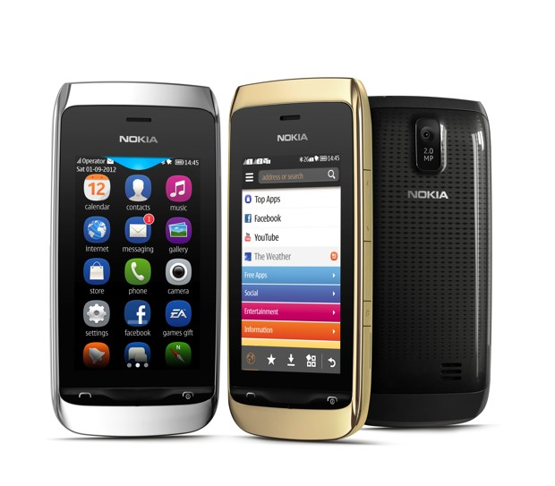 Nokia Asha 308 and Nokia Asha 309 are announced and will soon hit the mobile market.