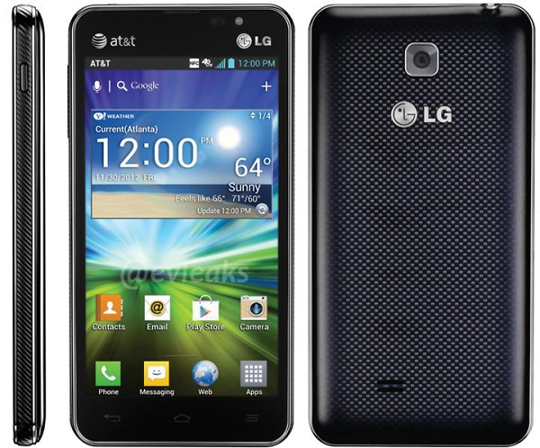 LG Escape (AT&T) and its leaked photos just appeared on the Internet.