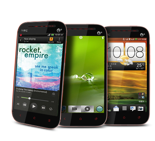 The Dual SIM HTC with its options