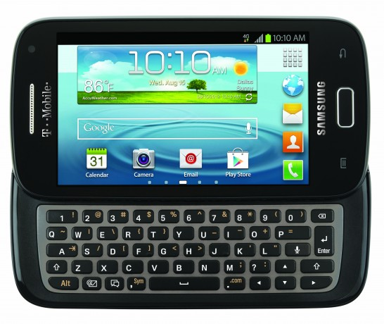 The Samsung Galaxy S Relay 4G is now on T-mobile