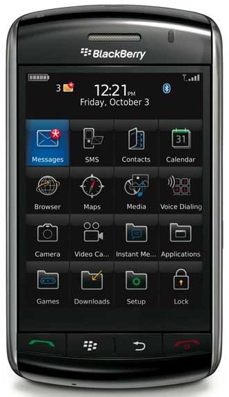 memory blackberry storm 9530