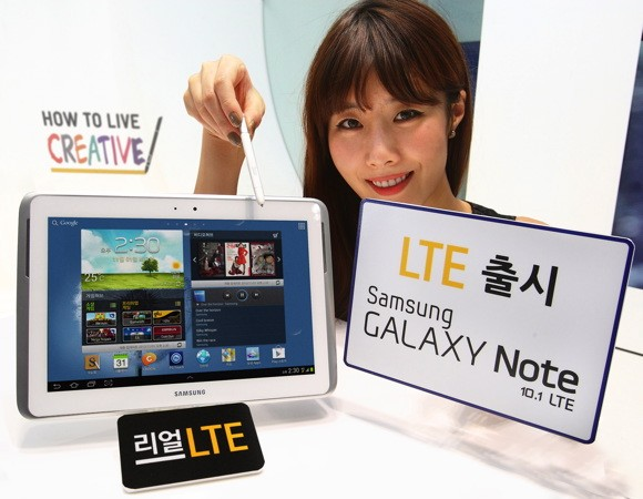 LG claims Samsung breaches patents with Galaxy Note 10.1