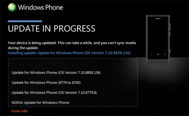 Nokia Lumia 800 gets Windows Phone 7.8