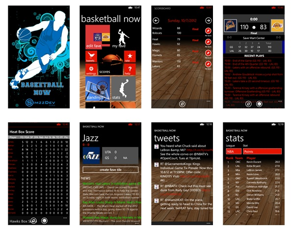 Basketball NOW updated for Windows Phone 8-1