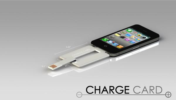 iPhone and Android Card charger