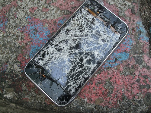 23 percent of the iPhones are with broken screens 1