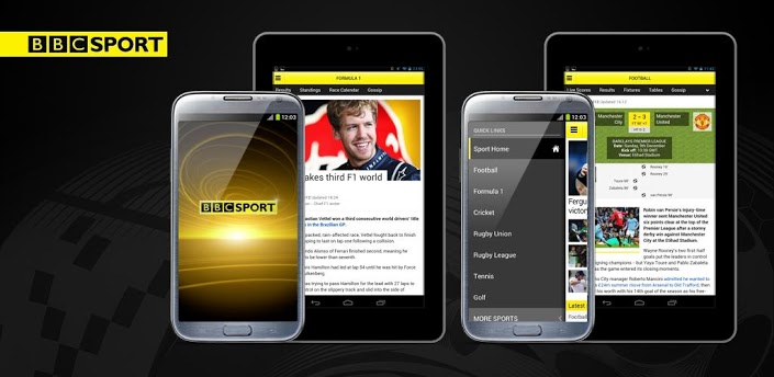 Android users get BBC Sport app at last
