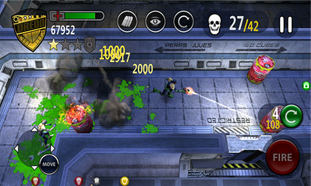 Dredd vs. Zombies Game Review 1