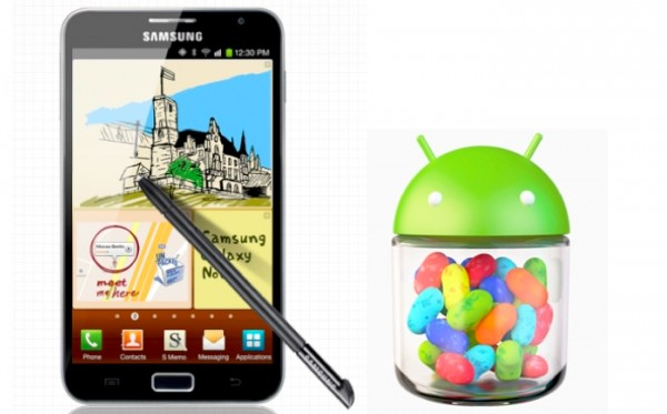 Jelly Bean coming for Galaxy Note users in Canada