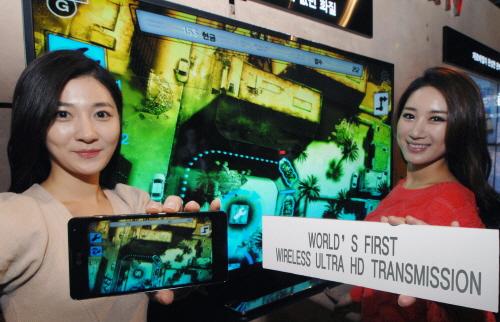 LG showcases its new Ultra HD Transmission technology