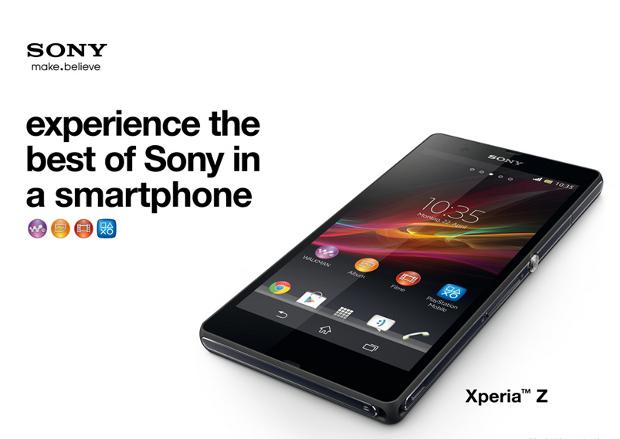 Xperia Z released a week earlier in Germany