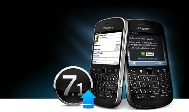 YouTube problems for the users of BlackBerry OS 7 and 7.1