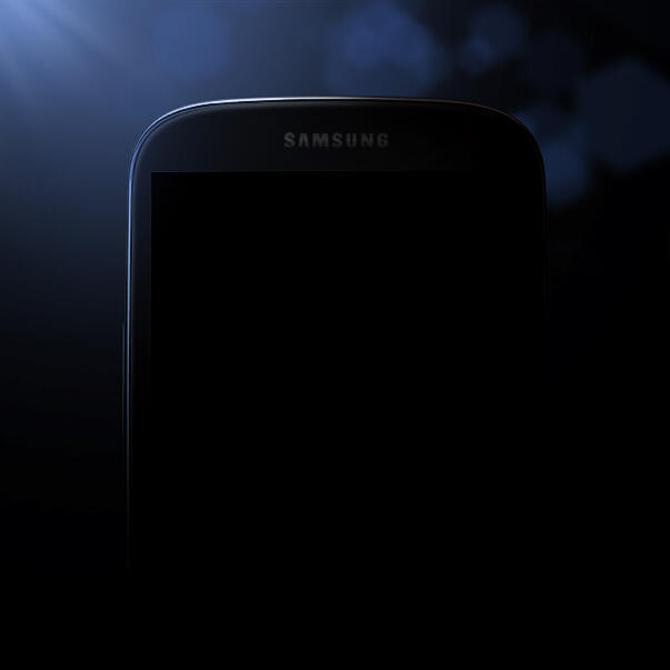 The first officially released picture of Samsung Galaxy S4 was seen in the Twitter Profile of Samsung Mobile US.