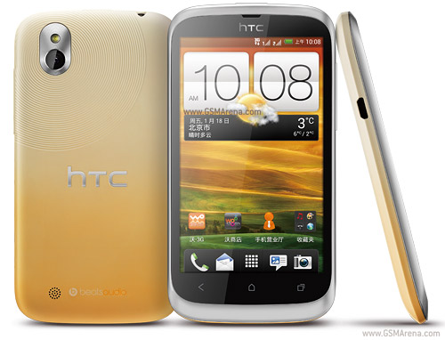 HTC Desire U is a compact mid-range smartphone with 4-inch display