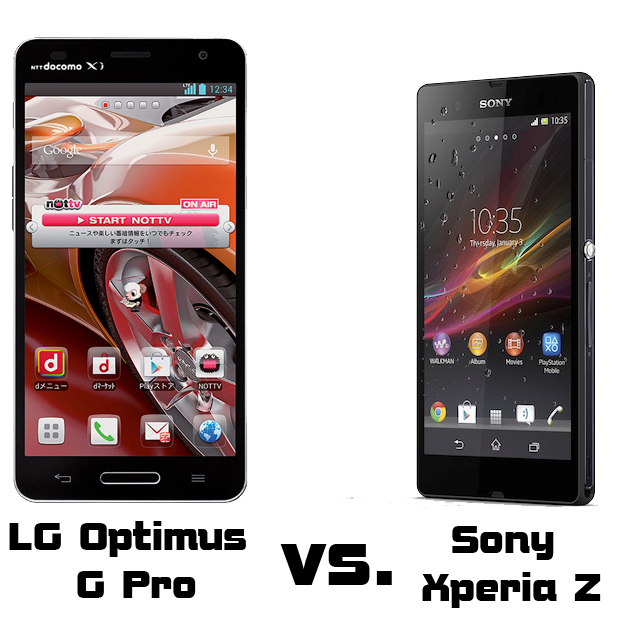 Read out comparison of LG Optimus G Pro and Sony Xperia Z - the new flagships of the Asian companies.