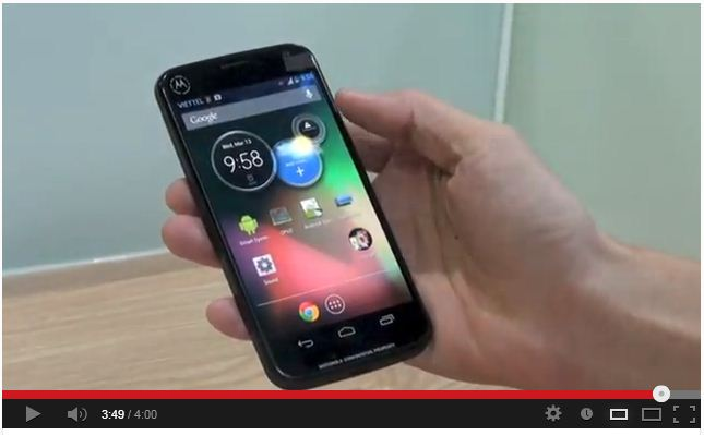 Today a new Motorola device leaked in a Taiwanese video - it is not Motorola X.