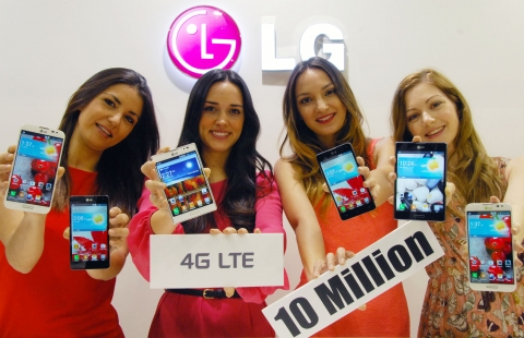 The 10th million LG LTE smartphone sold