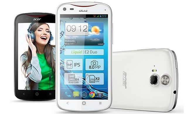Acer launches Liquid E2 in May for €229