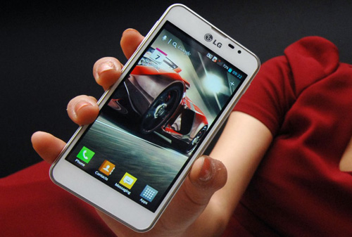 LG Optimus F5 debuts today in France
