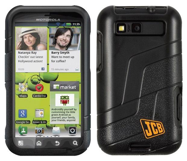 Motorola works on phone's durability
