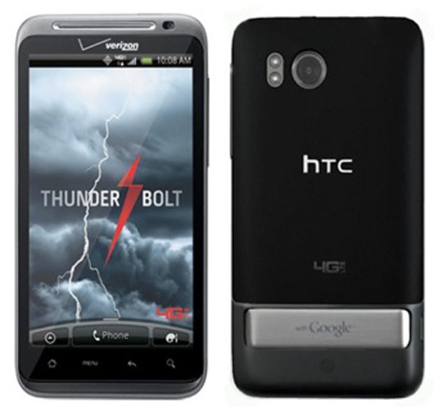 HTC Thunderbolt is getting a new update, but, for a pity, it  is not Jelly Bean.