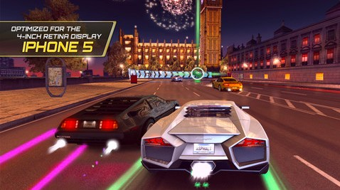 Great racing app free for download – Asphalt 7 Heat for iOS