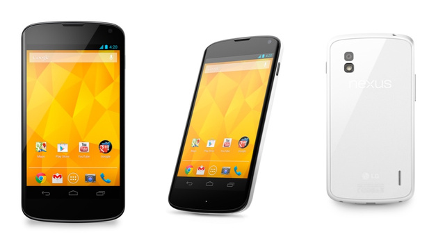 LG makes the white Google Nexus 4 official