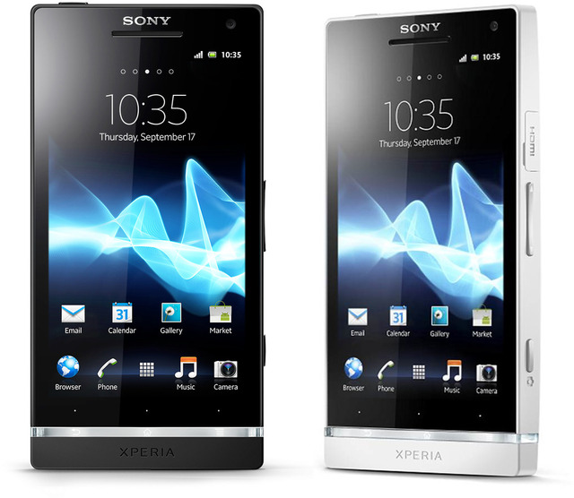 New update for Sony Xperia S