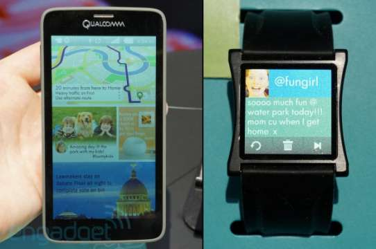 Qualcomm shows demo version of the new Mirasol display with 2,560 x 1,440 resolution