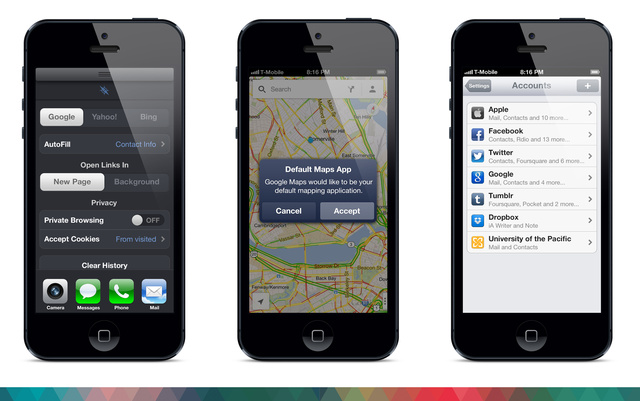 The new design of Apple iOS 7 is significantly different from the old one.