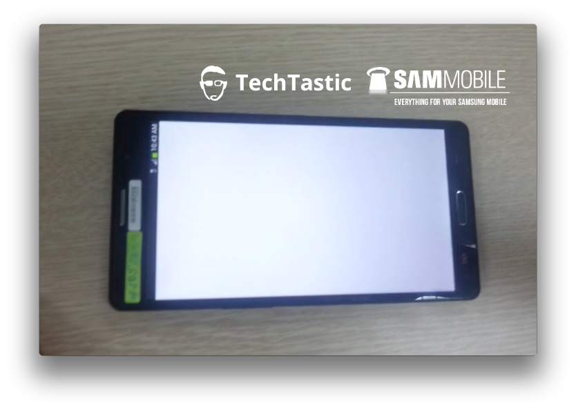 Take a peek at the images of the prototype of Galaxy Note 3