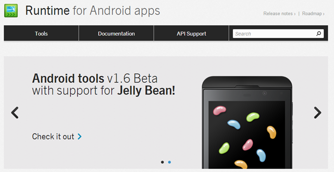 The BlackBerry Runtime for Android 4.2.2 available this summer