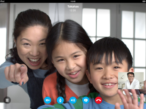 The iOS Skype app update brings features for Video Messaging