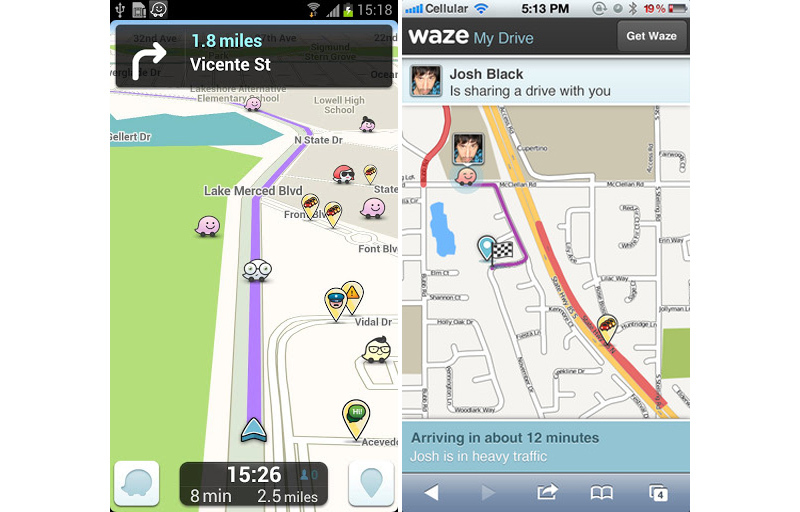 Waze and Google officially announced the acquisition of the app