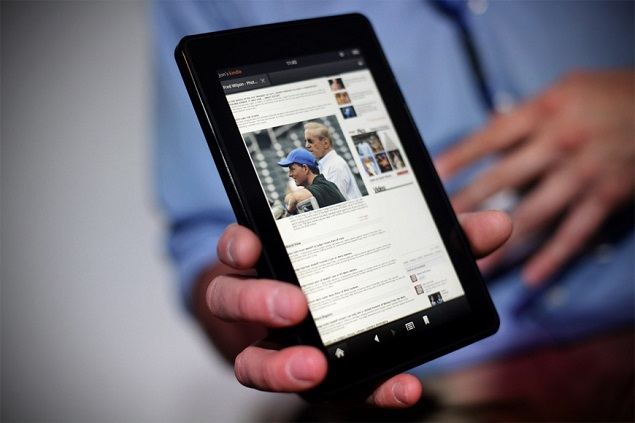 Amazon will launch a set of new Kindle Fire tablets in 2013