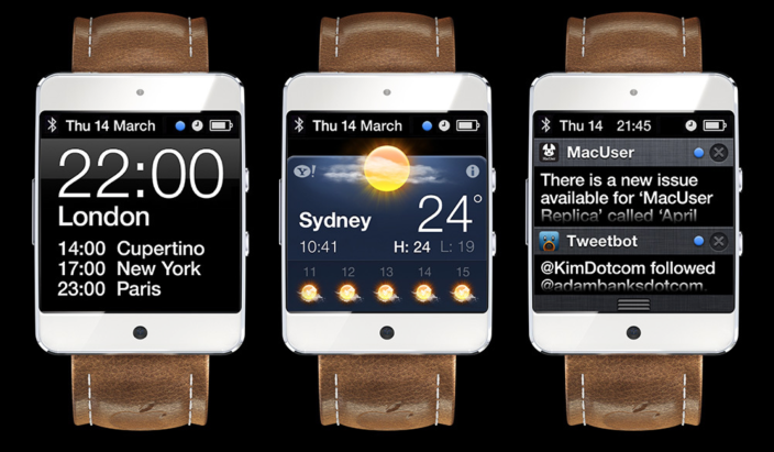 Apple applies for patent on the iWatch in Taiwan, Japan and Mexico