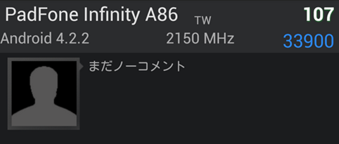 Asus PadFone Infinity A86 appeared on AnTuTu