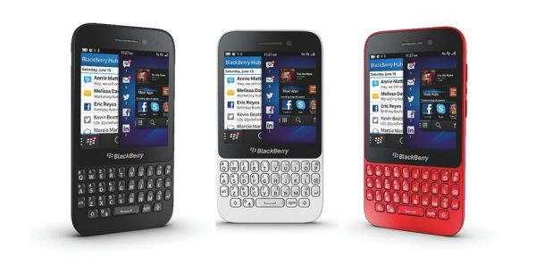 BlackBerry Q5 released in the UK and South Africa