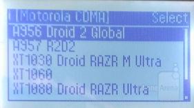 DROID RAZR Ultra and DROID RAZR M Ultra spotten on a Cellebrite machine 1