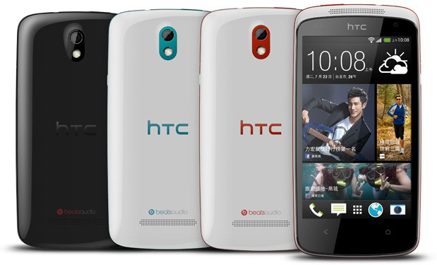 HTC Desire 500 is official, read more details