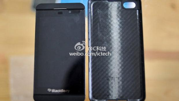 Leak with pictures compare BlackBerry A10 and Z10