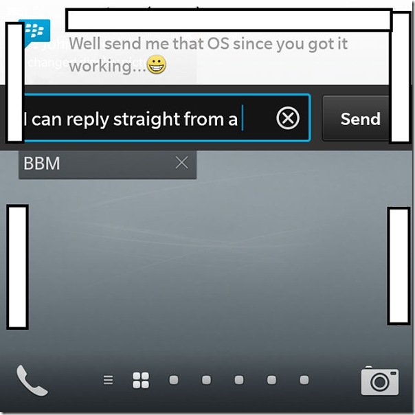 New leak with screenshots of the BlackBerry 10.2 update