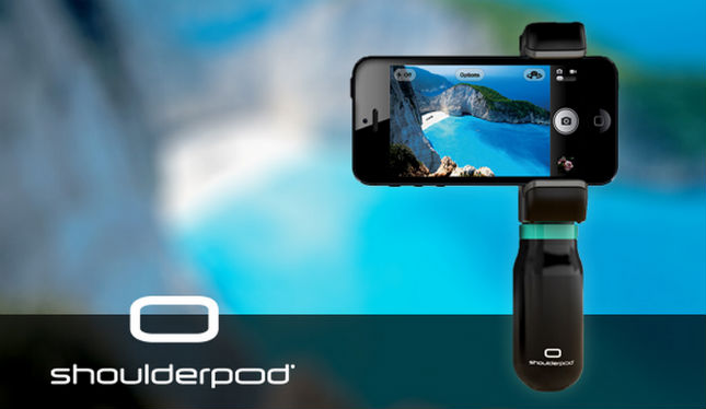SHOULDERPOD – take better pictures with your phone