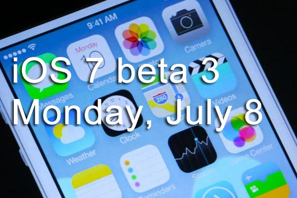 Today is the launch date of iOS 7 beta 3