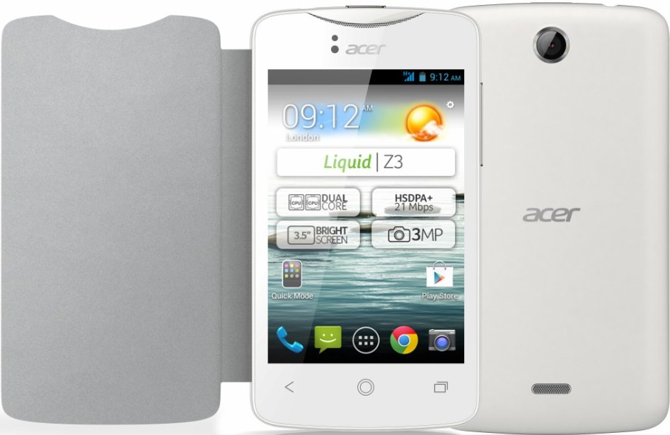 Acer Liquid Z3 arrives in the mid of August as one of the cheapest Android running devices