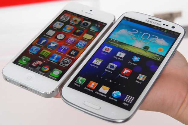 Samsung and Apple have been really polar one towards the other