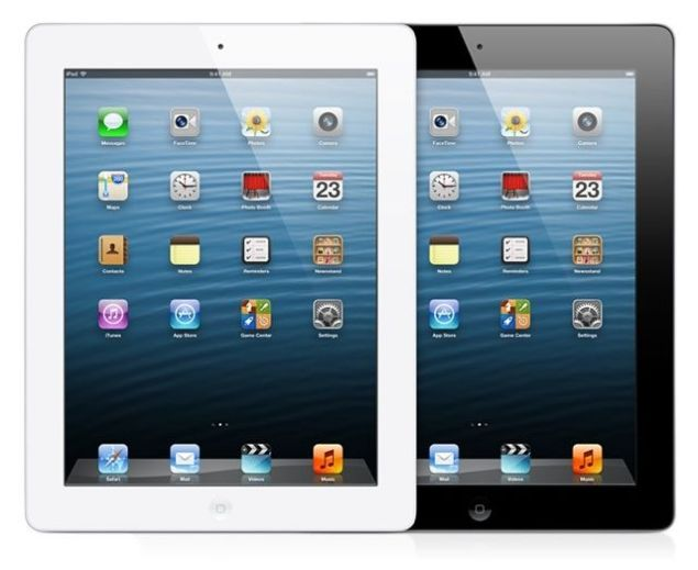 Apple iPad 4 Wi-Fi is among the best large-sized tablets for 2012