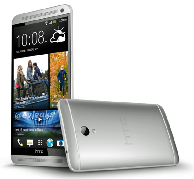 HTC One makes impression with its 5.9-inch display, showed in pictures of press render