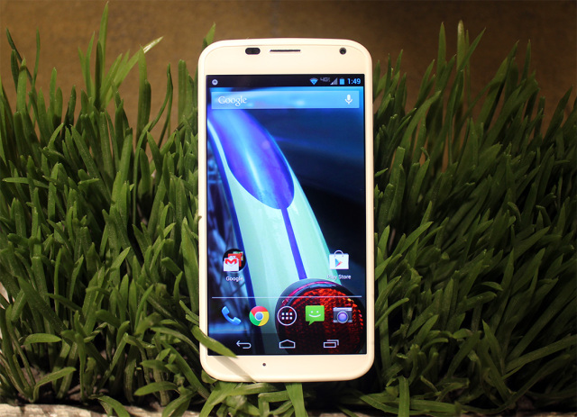Personalized new look on the Motorola Moto X