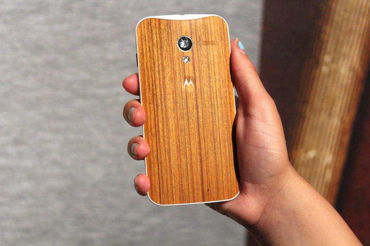 You are able to personalize the look of your Motorola Moto X